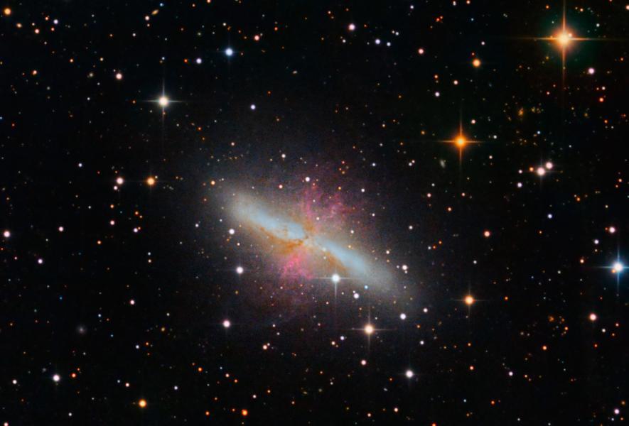 M82, the Cigar Galaxy - Skies by Africa